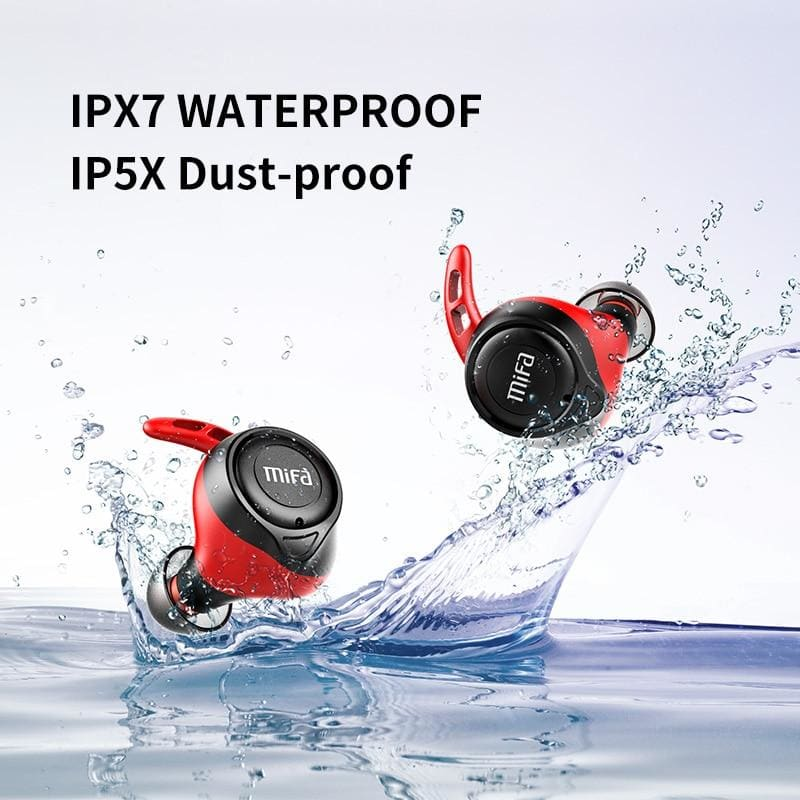 mifa X11 TWS Ture wireless Earbuds apt-X  bluetooth 5.0 earphone IPX7 Waterproof  CVC 8.0 noise reduction 100H Play time