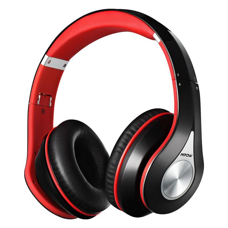 Mpow best 059 headphones wireless bluetooth 4.0 headphone built-in mic soft earmuffs noise cancelling stereo headset for phones - on sale