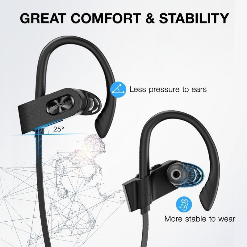 Mpow flame 2 ipx7 waterproof 13h playback bluetooth 5.0 sports earphone cvc6.0 noise cancelling for iphone samsung huawei xiaomi - on sale