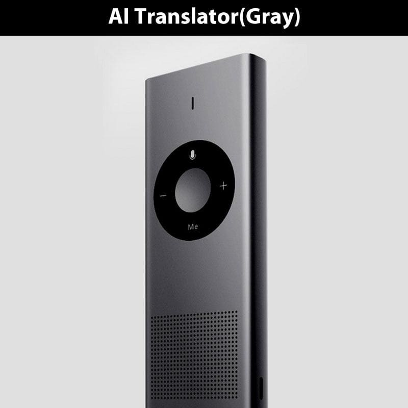 Original xiaomi ai translator 14 language 7 day standby 8h continuous translate microsoft translation engine for smart mi travel - on sale