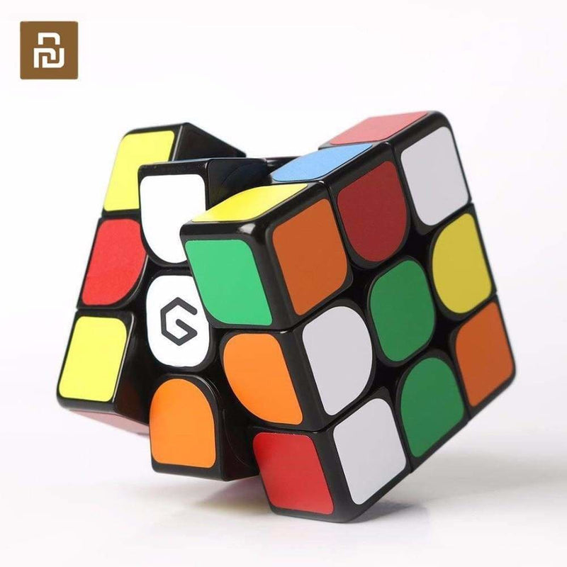 Original xiaomi mijia giiker m3 magnetic cube 3x3x3 vivid color square magic cube puzzle science education work with giiker app - on sale