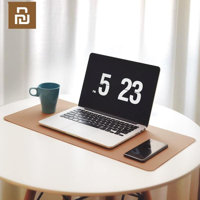 Original Xiaomi Mijia Oak Natural Softwood Mouse Pad Water Resistant Anti Slip Computer Mouse Pad