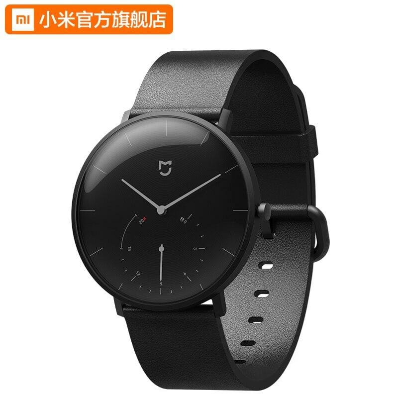 Original xiaomi mijia quartz watches waterproof double dial with alarm sport sensor ble4.0 wireless connect to smart mi home app - on sale