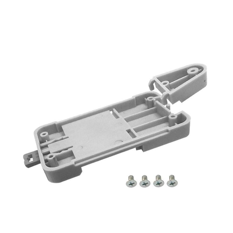 Sonoff DR DIN Rail Tray Adjustable Mounted Rail Case Holder Solution for Sonoff Mounted Onto The Guide Track Kit for Switchboard (Sonoff DR)