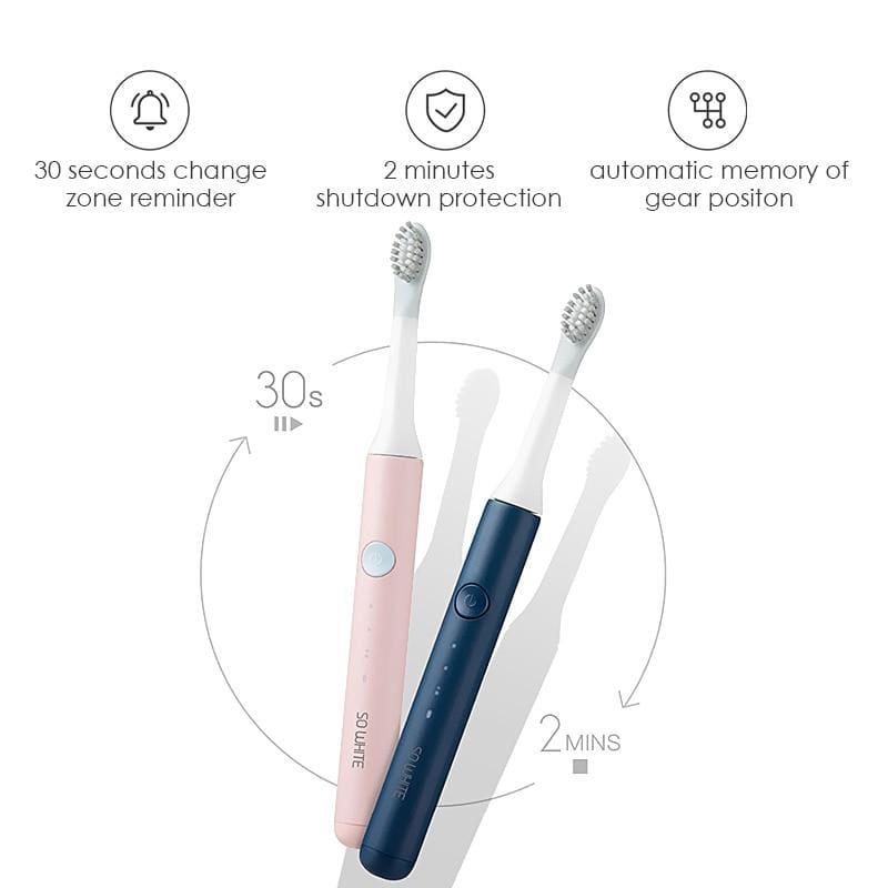 SOOCAS SO WHITE PINJING EX3 Sonic Electric Toothbrush for Xiaomi Mijia Ultrasonic Automatic Tooth Brush Rechargeable Waterproof