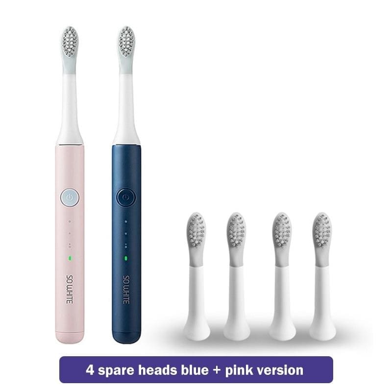 Soocas so white pinjing ex3 sonic electric toothbrush for xiaomi mijia ultrasonic automatic tooth brush rechargeable waterproof - on sale