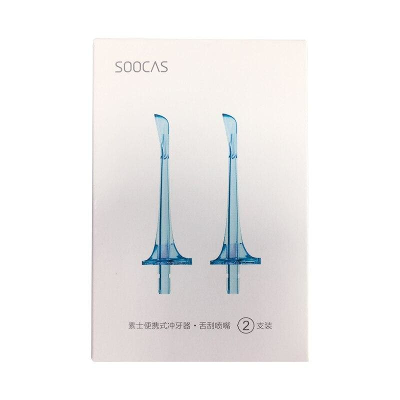 SOOCAS W3 jets nozzles water flosser portable electric oral irrigator original nozzle jet tip replacement extra for Xiaomi Youpin