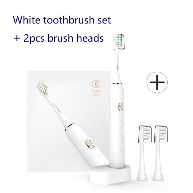 Soocas x3u sonic toothbrush electric tooth brush for xiaomi mijia ultrasonic automatic upgraded fast chargeable adult waterproof - on sale