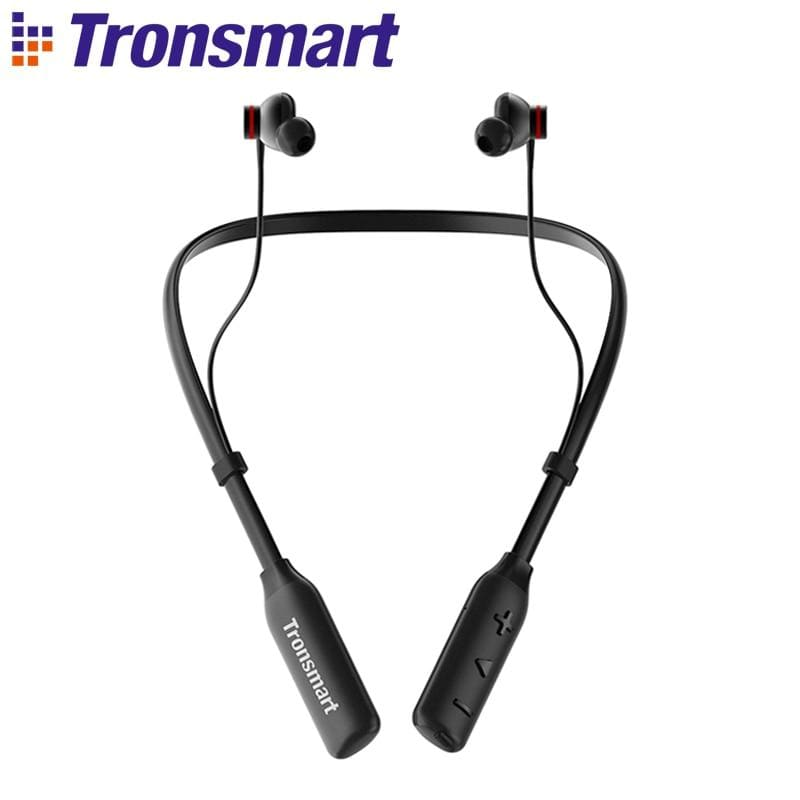 Tronsmart Encore S2 Plus Bluetooth 5.0 Earphones Qualcomm Chip Wireless Headset, Voice Control,Deep Bass, cVc 6.0 , 24H Playtime (S2 Plus earphones)