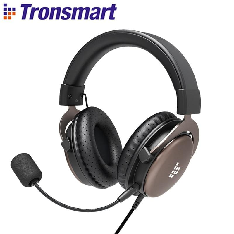 Tronsmart Sono Gaming Headphones Headset Gamer Wired Headphones for computer with Mic for PS4,Xbox One,Switch and Mobile Devices (Black)