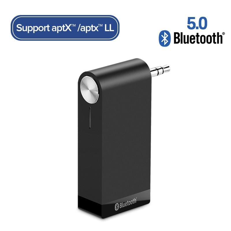Ugreen bluetooth receiver 5.0 wireless aptx ll 3.5mm car aux 3.5 jack stereo adapter music headphone bluetooth audio receiver - on sale