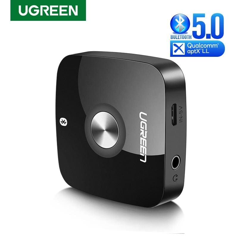 Ugreen Wireless Bluetooth 5.0 Receiver 3.5mm Jack APTX LL AUX 3.5 Music Receiver HiFi Audio Adapter For Car Blutooth Receptor