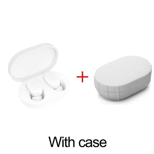 Xiaomi mi airdots tws bluetooth earphones wireless in-ear earbuds earphone headset with mic and charging dock box youth version (xiaomi