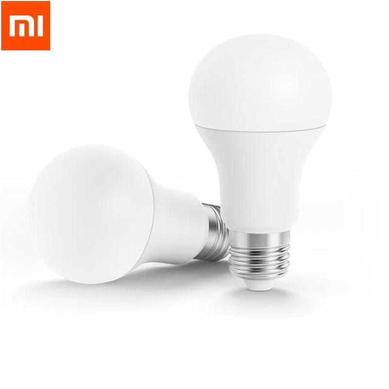 Xiaomi Mi Smart LED Bulb Wifi Remote Control Adjustable Brightness Eyecare Light Smart Bulb WHITE COLOR