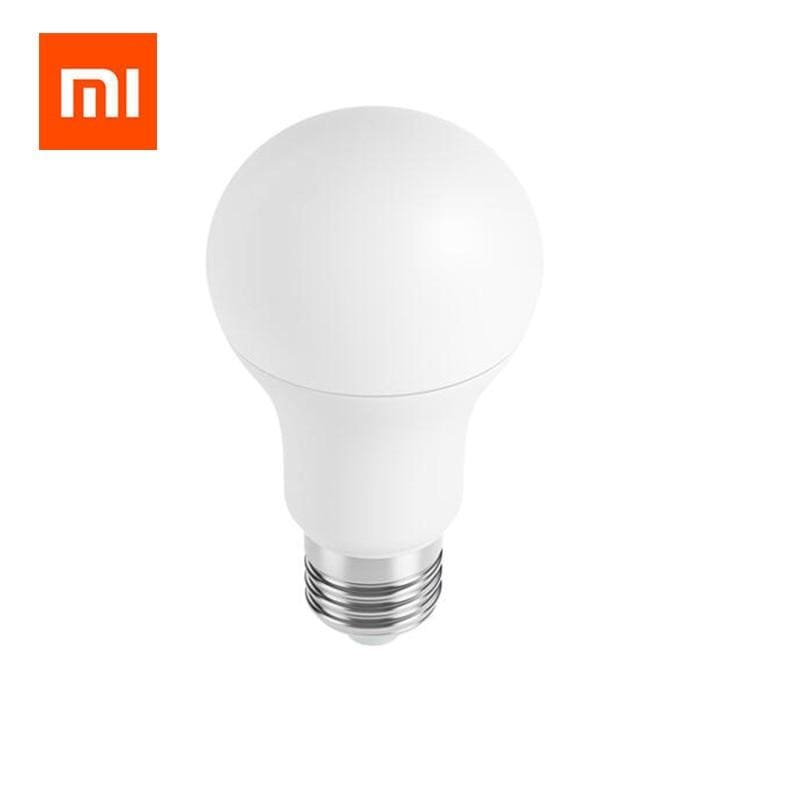 Xiaomi mi smart led bulb wifi remote control adjustable brightness eyecare light smart bulb white color - on sale