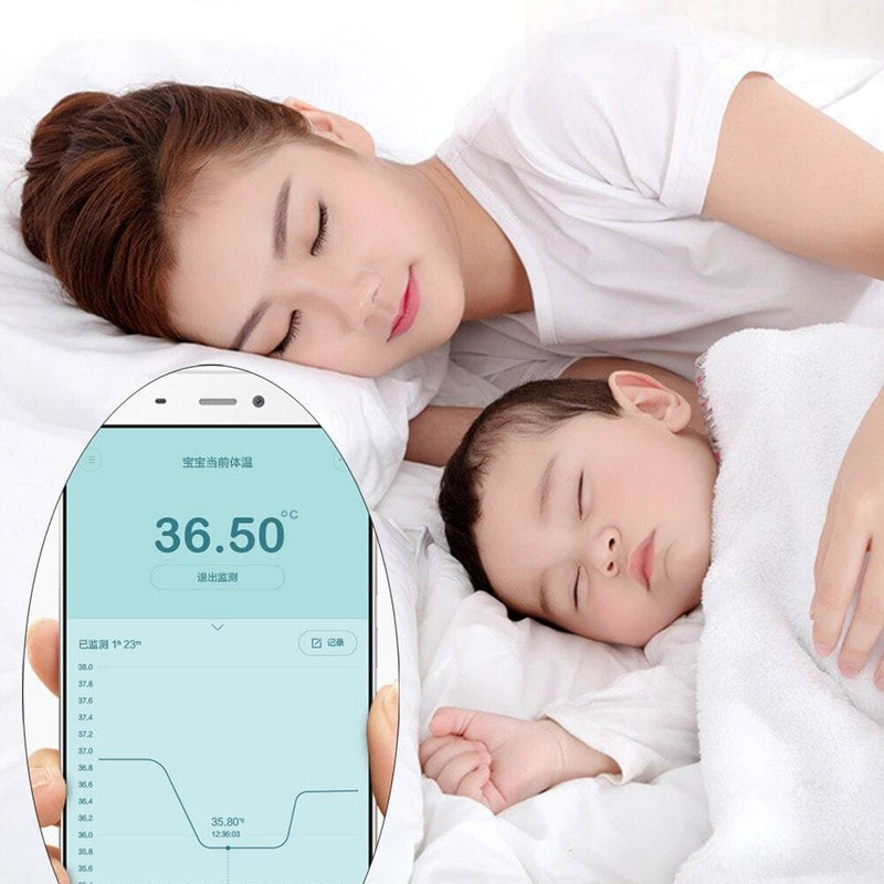 Xiaomi Miaomiaoce Baby Thermometer Smart Digital Thermometer Clinical Accrate Measurement Constant Monitor High-Temprature Alarm
