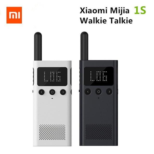 Xiaomi Mijia 1S 20 Channels 430-440MHz Two Way Radio Walkie Talkie Smart Bluetooth Interphone USB Rechargeable Location Share