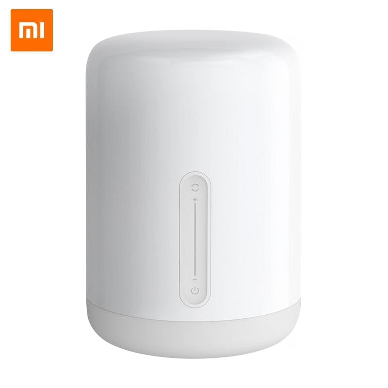 Xiaomi mijia bedside lamp 2 smart light voice control touch switch mi home app led bulb for apple homekit siri & xiaoai clock - ₹5,899