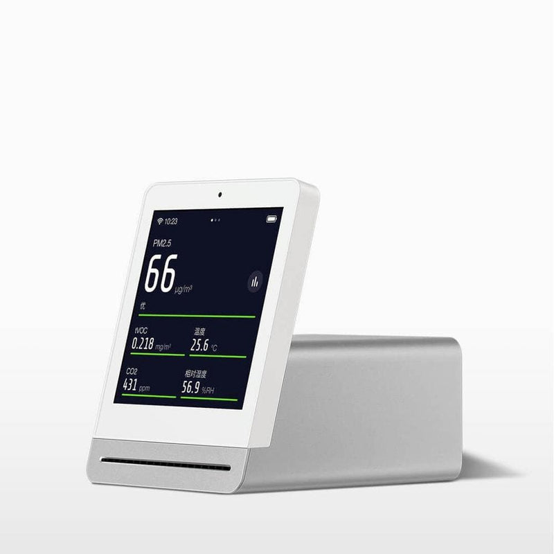 Xiaomi mijia cleargrass air monitor retina touch ips screen mobile touch operation indoor outdoor clear grass air detector - on sale