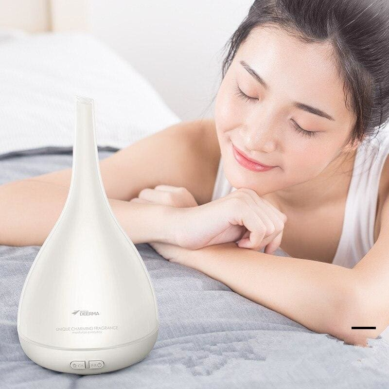 xiaomi mijia deerm Aromatherapy humidifier essential oil diffuser ultrasonic quiet color light Home Office Living Room Spa Yoga