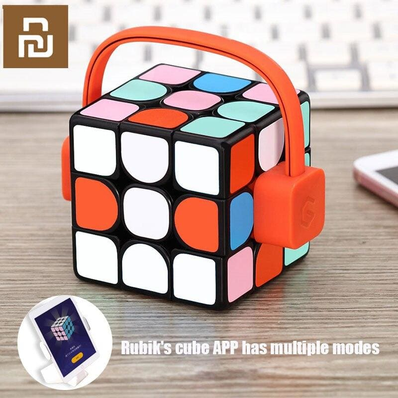 xiaomi mijia Giiker super smart cube App remote comntrol Professional Magic Cube Puzzles Colorful Educational Toys For man woman