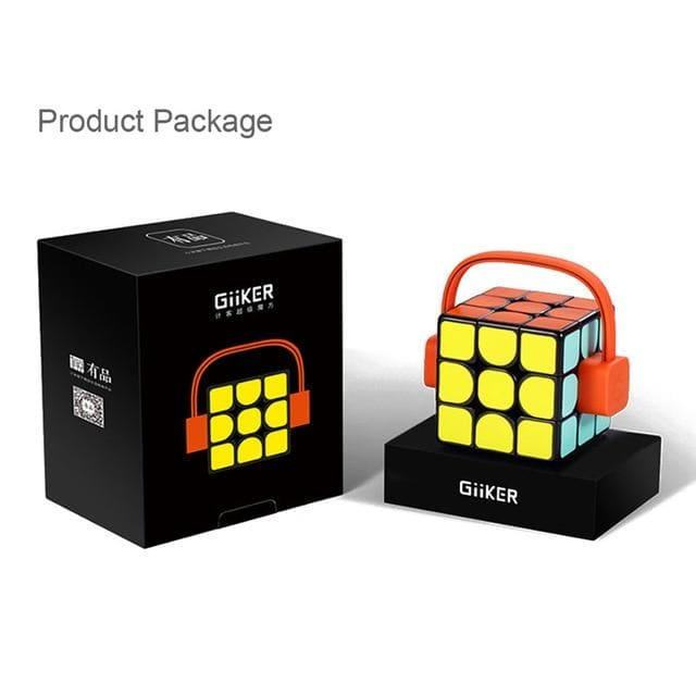 Xiaomi mijia giiker super smart cube app remote comntrol professional magic cube puzzles colorful educational toys for man woman - on sale