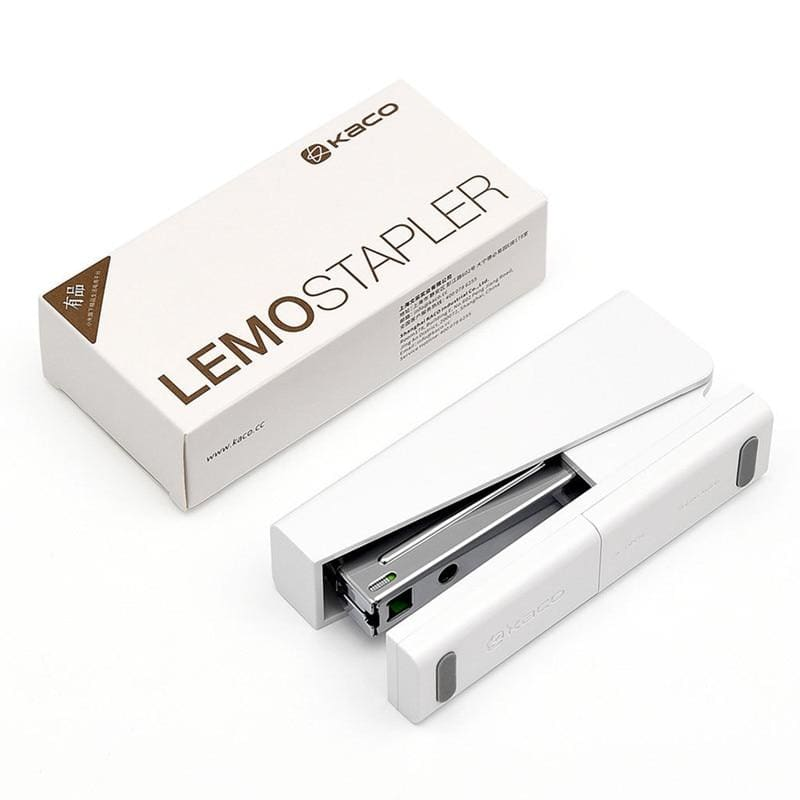 Xiaomi mijia kaco lemo stapler 24/6 26/6 with 100pcs staples for paper office school for xiaomi mi home mijia smart home kit - on sale