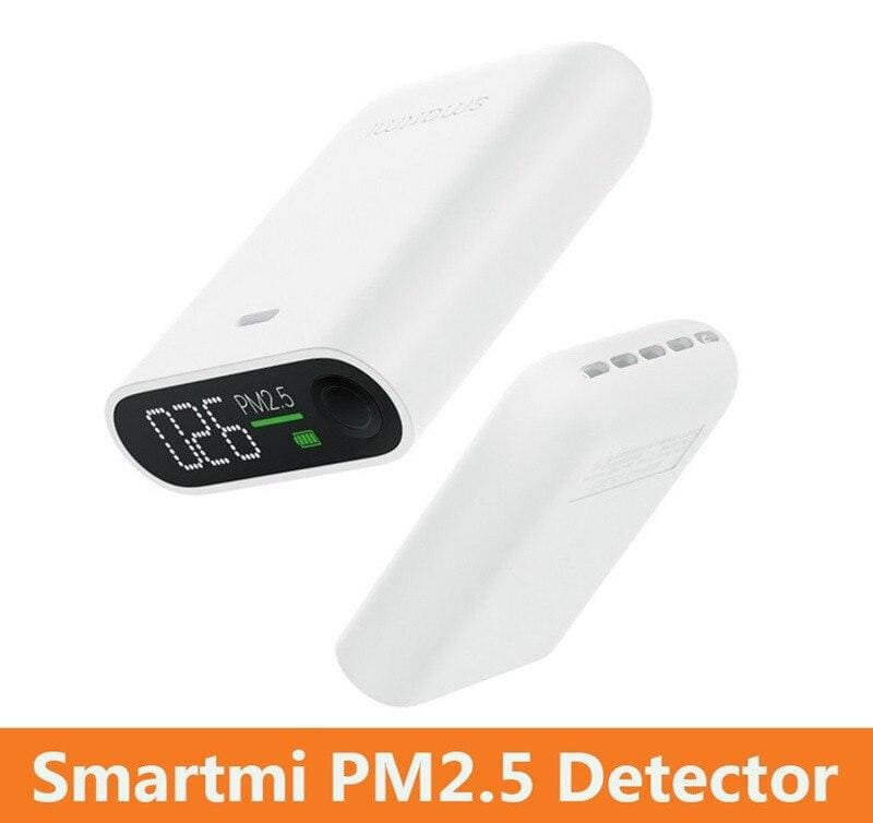 Xiaomi Mijia Smartmi PM2.5 Air Detector Portable Sensitive Mijia Air Quality Tester LED Screen Three-color Digital Indicator