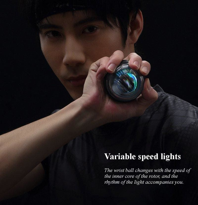 Xiaomi mijia yunmai Wrist Trainer LED Gyroball Essential Spinner Gyroscopic Forearm Exerciser Gyro Ball for Mijia mi home kits