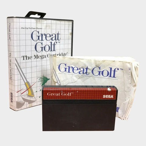 GREAT GOLF / SEGA MASTER SYSTEM