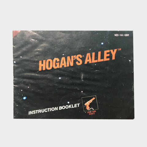 Hogans Alley Game Manual NES | Second Potion Australia