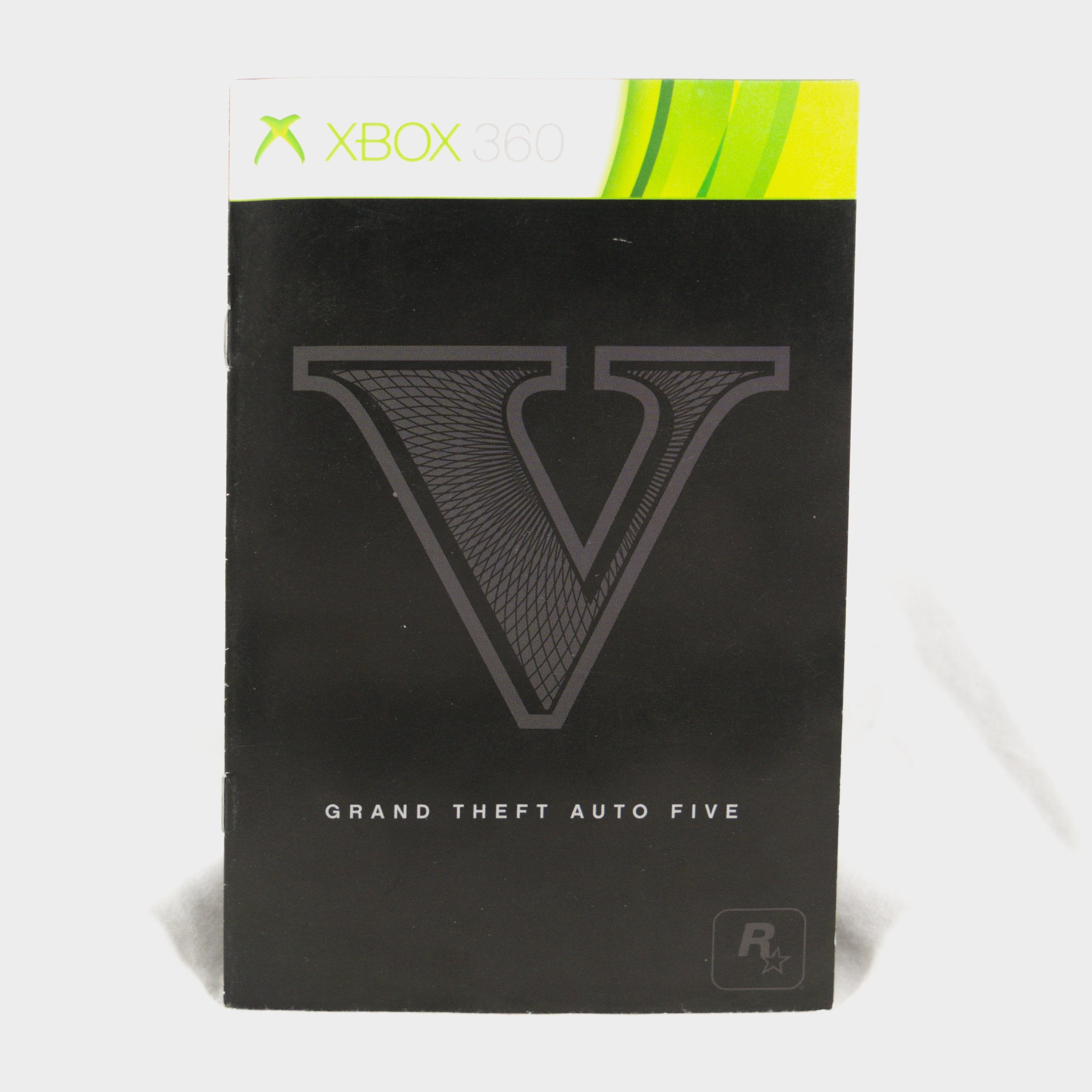 Details about Grand Theft Auto V Xbox 360 Manual on