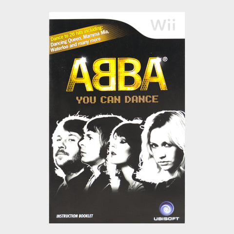 Abba You Can Dance Wii Game Manual