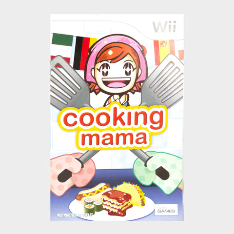 Cooking Mama Wii Game Manual