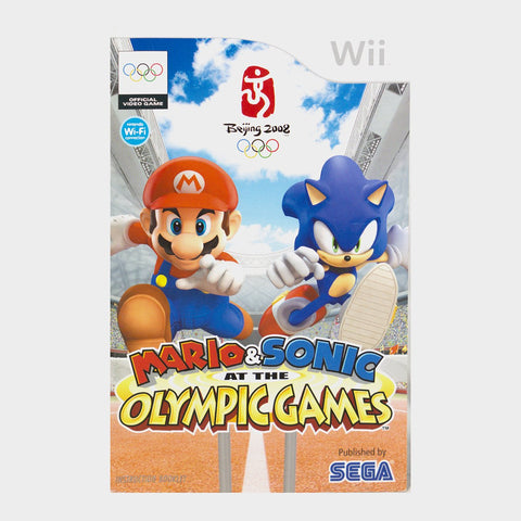 Mario And Sonic At The Olympic Games Wii Game Manual
