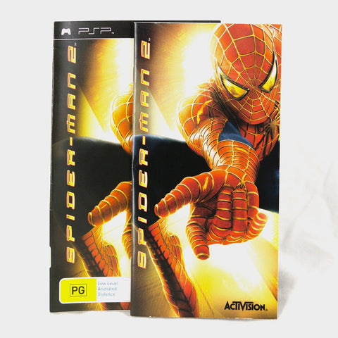 Spiderman 2 Psp Game Manual