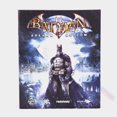 Batman Arkham Asylum Playstation 3 Game Manual