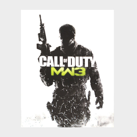 Call Of Duty Modern Warfare 3 Playstation 3 Game Manual