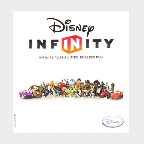 Disney Infinity Playstation 3 Game Manual
