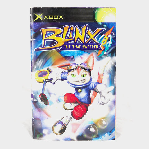 Blinx The Time Sweeper Original Xbox Manual