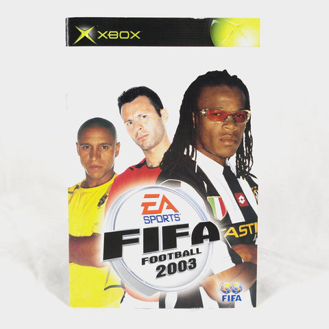 Ea Sports - Fifa Football 2003 Original Xbox Manual