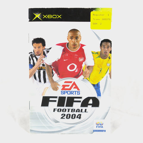 Ea Sports - Fifa Football 2004 Original Xbox Manual