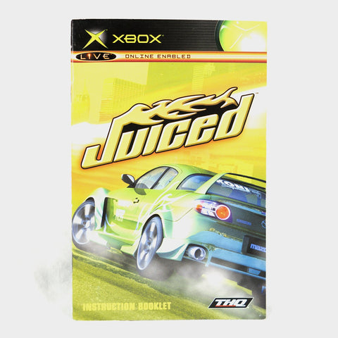 Juiced Original Xbox Manual
