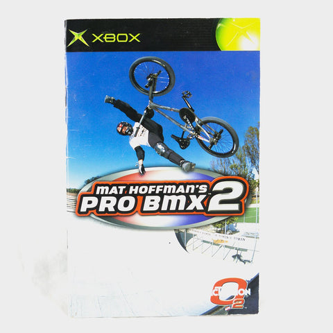 Mat Hoffman's Bmx 2 Original Xbox Manual
