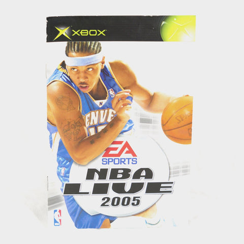 Ea Sports - Nba Live 2005 Original Xbox Manual