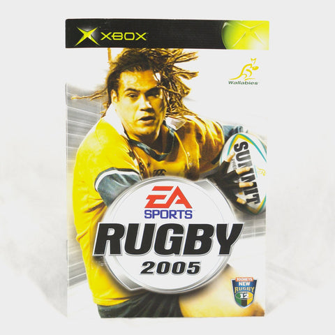 Ea Sports - Rugby 2005 Original Xbox Manual