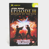 Star Wars Episode 3 (III) - Revenge Of The Sith Original Xbox Manual
