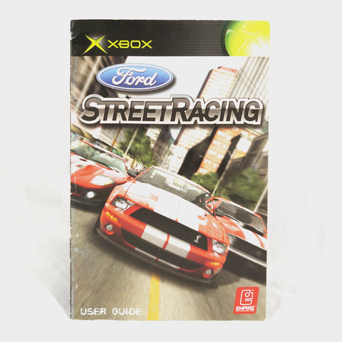 Ford Street Racing Original Xbox Manual