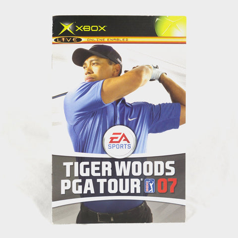 Ea Sports - Tiger Woods Pga Tour 2007 Original Xbox Manual