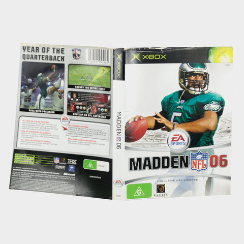 Ea Sports - Madden Nfl 06 (2006) Original Xbox Game Sleeve